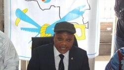 Jean-Marc Kabund, secrétaire général de l'UDPS, au micro de Top Congo FM, notre station partenaire à Kinshasa
