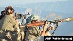 Gerîlayên PKK'ê