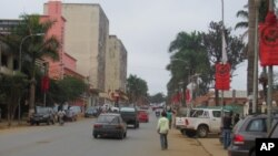 Aspecto da cidade de Uíge