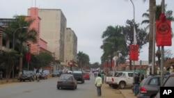 Cidade da província do Uíge em Angola