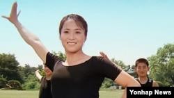 북한과 서양의 첫 합작영화 '김동무는 하늘을 난다'의 한 장면