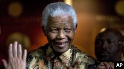 前南非總統曼德。(資料圖片)