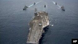 Jirgin ruwan yakin Amurka USS Nimitz
