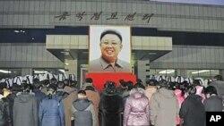 김정일 사망을 애도하는 북한 주민