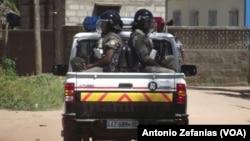 Polícia em Quelimane