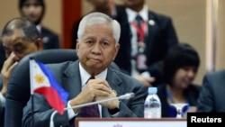 菲律宾外交部长德尔罗萨里奥