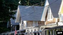 Những căn nhà nhỏ trên đảo Martha's Vineyard