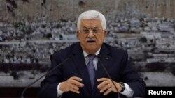 巴勒斯坦權力機構主席阿巴斯