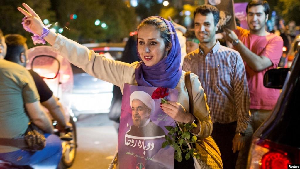 Iran President Rouhani Wins Second Term