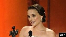 """Natali Portman osvojila je nagradu Udruženja filmskih glumaca za najbolju žensku ulogu u filmu """"Crni labud"""""""