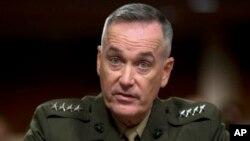 Đại tướng Joseph Dunford, Tư lệnh lực lượng quốc tế do NATO lãnh đạo ở Afghanistan.