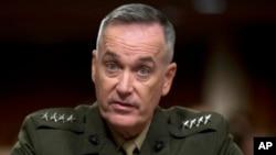 Đại tướng Joseph Dunford loan báo những binh sĩ rút khỏi Wardak sẽ được thay thế bởi các binh sĩ và nhân viên cảnh sát Afghanistan