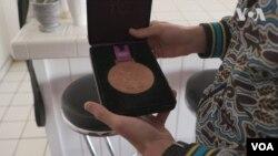 Олімпійська медаль Тараса Шелестюка