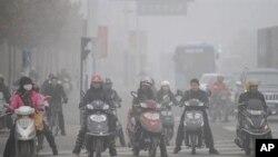 中国安徽合肥空气污染严重
