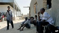 Africanos negros perseguidos na Líbia
