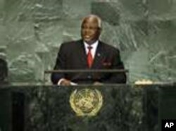 Sierra Leone President Ernest Bai Koromah