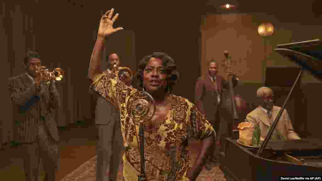 Imagem do filme Ma Raney's Black Bottom que ganhou o Oscar de 2021 para Melhor Make Up e Cabeleireiro e Guarda-roupa