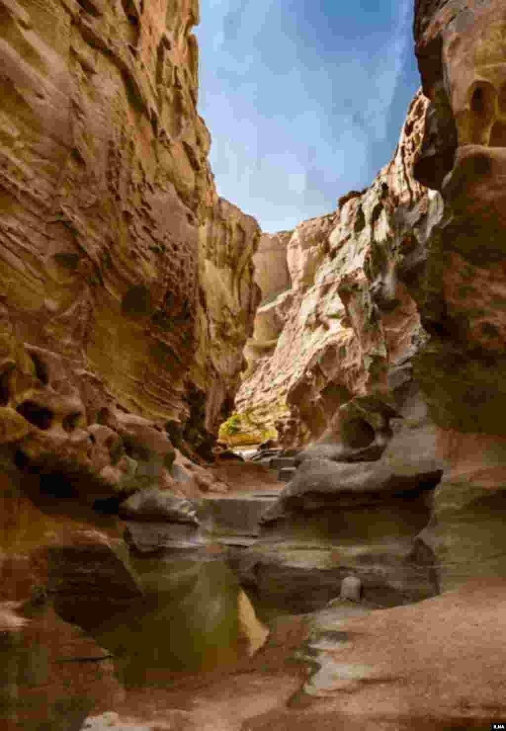 این دره مرموز، در قشم است. عکاس : هادی نوید، ایلنا
