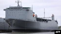 Brod Cape Ray uskoro isplovljava put Mediterana,