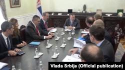 Poseta direktora Radne Grupe 231 Biroa za međunarodnu bezbednost i kontrolu naoružanja Stejt Departmenta Tomasa Zarzeckog Srbiji (Foto: official publication)