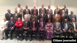 African ministerial delegation in Washington