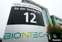 The headquarters of biopharmaceutical company BioNTech are seen in Mainz, Germany November 10, 2020. (REUTERS/Ralph Orlowski)