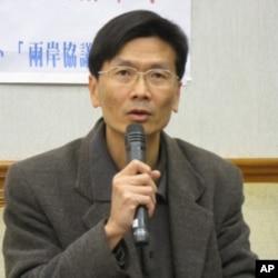台湾守护民主平台召集人徐伟群