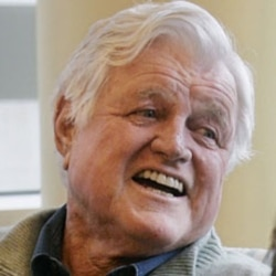 Senator Kennedy was diagnosed with a brain tumor in 2008