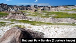 The Contana Basin, Badlands National Park