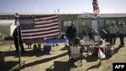 2004年11月新墨西哥州阿尔伯克基纳瓦霍部落全国大选临时投票中心