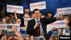美國共和黨總統參選人魯比奧。
