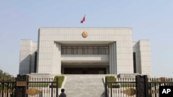 北韓最高法院曾經審理被扣押美國公民案 (資料照片)