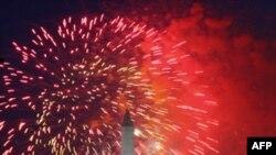 Người Mỹ mừng Lễ Độc Lập bằng tiệc tùng và pháo bông