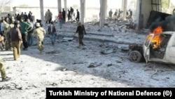 Tel Abyad'ta bu ay ikinci kez bombalı saldırı düzenlendi.