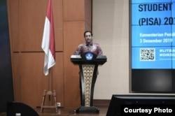 Menteri Pendidikan dan Kebudayaan (Mendikbud) Nadiem Anwar Makarim. (Foto: Kemendikbud)