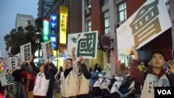 台灣選舉文化很難在香港複製。(美國之音湯惠芸攝)