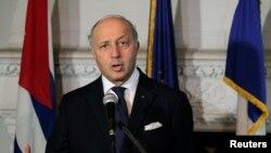 وزير امور خارجه فرانسه، لوران فابيو،