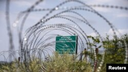 На де-факто границе между Грузией и Южной Оссетией