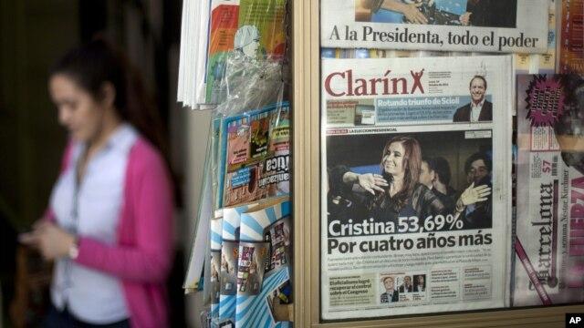 La nueva ley de medios entra en vigor este viernes en Argentina, con la fuerte oposición del Grupo Clarín, por ser el más afectado por la misma.