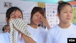 Two women wounded in the 2011 protest shooting in Svay Rieng province have seen their conditions worsen.