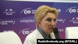 Колишній міністр охорони здоров'я Раїса Богатирьова