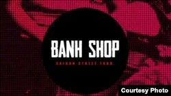 """Trên trang web của Banh Shop, logo hiện không còn ngôi sao đỏ, dù vẫn giữ chữ """"Saigon Street Food""""."""