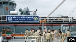 이란 당국이 시리아와 예멘에 해군기지를 운용하는 방안에 관심을 두고 있는 것으로 알려졌다. 사진은 이란 해군 함정.