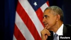 اوباما د ان پي آر سره په مرکه کې ویلي چې امریکا به په مناسب وخت او ځای کې اقدام وکړي