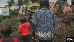 Des enfants réfugiés dans l'est de la RDC