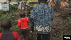 Des images d'enfants congolais extraites d'une vidéo.
