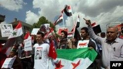 Türkiye'de Şam hükümeti karşıtı gösteri