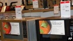 海尔微波炉在美国梅西百货公司廉价出售