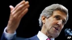 FILE - U.S. Secretary of State John Kerry, Dec. 17, 2013.