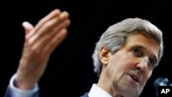 FILE - U.S. Secretary of State John Kerry.